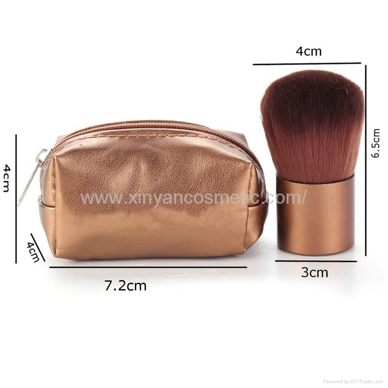 厂家供应精美底座刷 KABUKEi 蘑菇化妆刷 腮红刷 粉底刷 化妆扫 7
