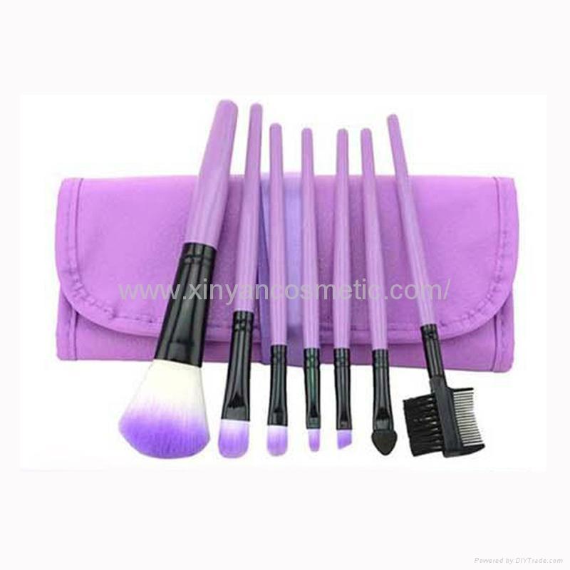 XINYANMEI Manufactury Supply Purple Makeup Brush Set  6