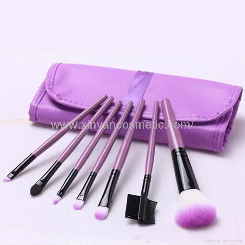 XINYANMEI Manufactury Supply Purple Makeup Brush Set  9