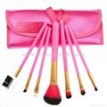 XINYANMEI Manufactury Supply Purple Makeup Brush Set  11