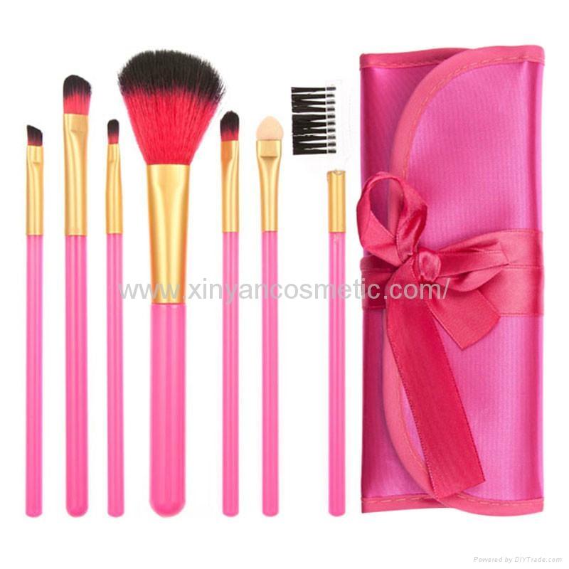 XINYANMEI Manufactury Supply Purple Makeup Brush Set  2