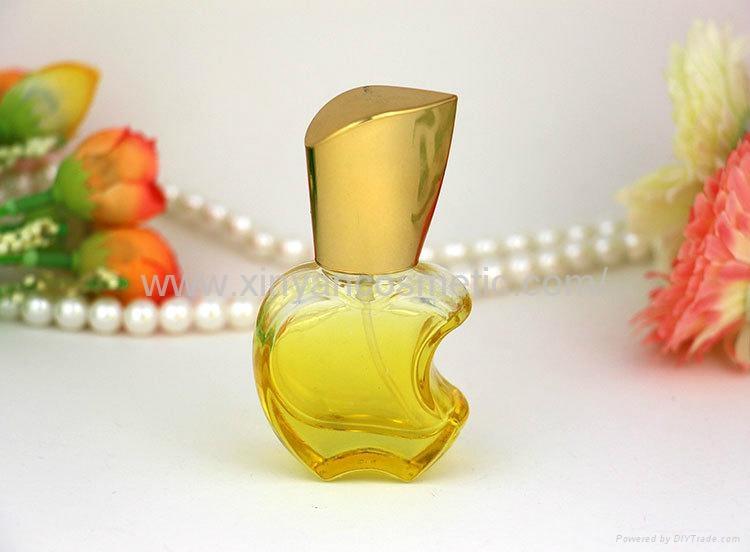 新妍美供应15ml苹果款香水瓶 彩色玻璃喷雾瓶 铝喷头 空瓶 香水分装瓶 3