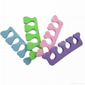 XINYANMEI Supply heart-shaped Toe Separators  cosmetic tools