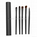 XINYANMEI Manufacturer supply 5 Mini Portable style Eye makeup brush