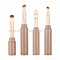Manufacturer supply Four in one Eye shadow Eyeliner Brush eye makeup brush
