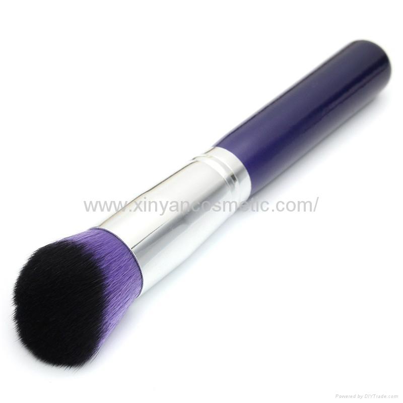 新妍美廠家供應10支木柄精美夢幻紫色化妝刷 美容美妝工具 2
