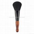 Manufacturer supply Bamboo/Wooden handle High grade Foundation cosmetic Brush