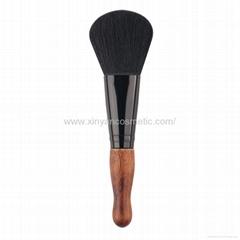 廠家供應竹子柄木柄高檔粉底刷腮紅刷 高品質化妝掃