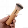 新妍美厂家供应竹子柄柔软毛洗脸刷粉底刷 美容美妆工具化妆扫 6