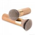 新妍美廠家供應竹子柄柔軟毛洗臉刷粉底刷 美容美妝工具化妝掃 7