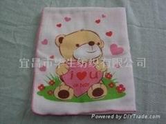 純棉嬰儿澡巾