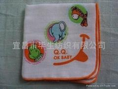 純棉嬰儿手帕