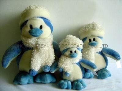 毛绒企鹅家族 1