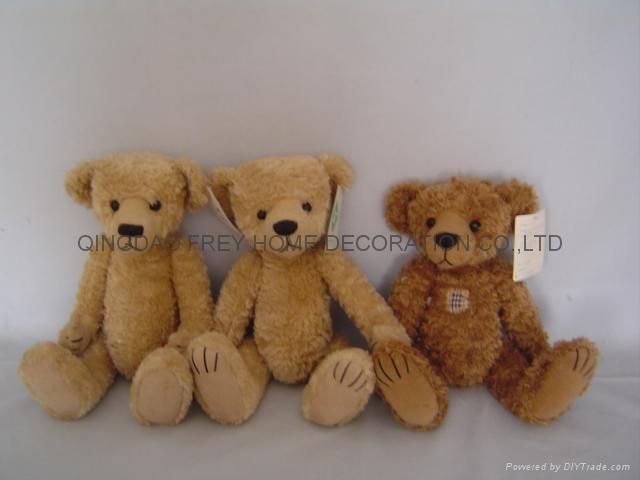 马海毛绒泰迪熊 3