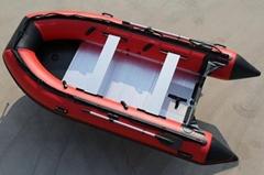 CE 3.8M PVC INFLATABLE FISHING BOAT, CRUISING BOAT