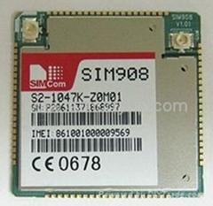 SIM908 GSM GPRS 无线通讯模块