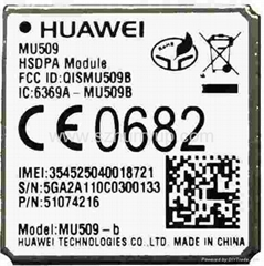 Huawei MU509 module use for Mobile Internet Device