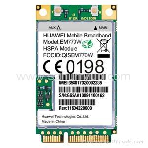 華為EM770W 3G 內置 通訊模塊 2