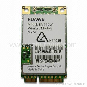 華為EM770W 3G 內置 通訊模塊 3