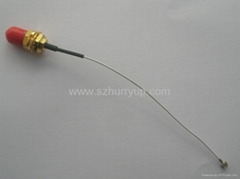 Coaxial cable with SMA male - SMA male connectors