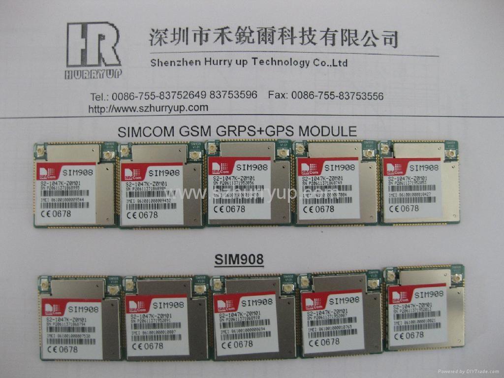 SIM908 GSM GPRS 无线通讯模块 3