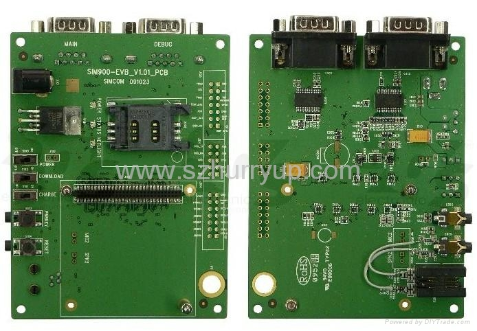sim908 開發板帶所有配件,GSM GPS 天線 1