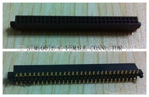 sim900te-c  female connector