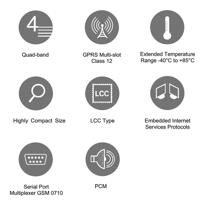 GSM/GPRS Module M95 - Antenna for GSM module SIMCOM module QUECTEL