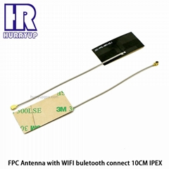 2.4GHz bluetooth FPC Antenna Length 10cm 1.13 cable with IPEX connector