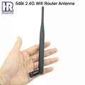 5dBi gain 2.4G wifi antenna omni router antenna 3