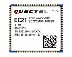移遠LTE CAT 1模塊EC21