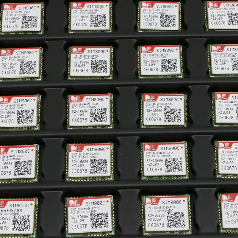 全新原装 SIMCOM SIM800C GSM GPRS 模块 SIM800C, 2G 通讯模块LCC封装 1