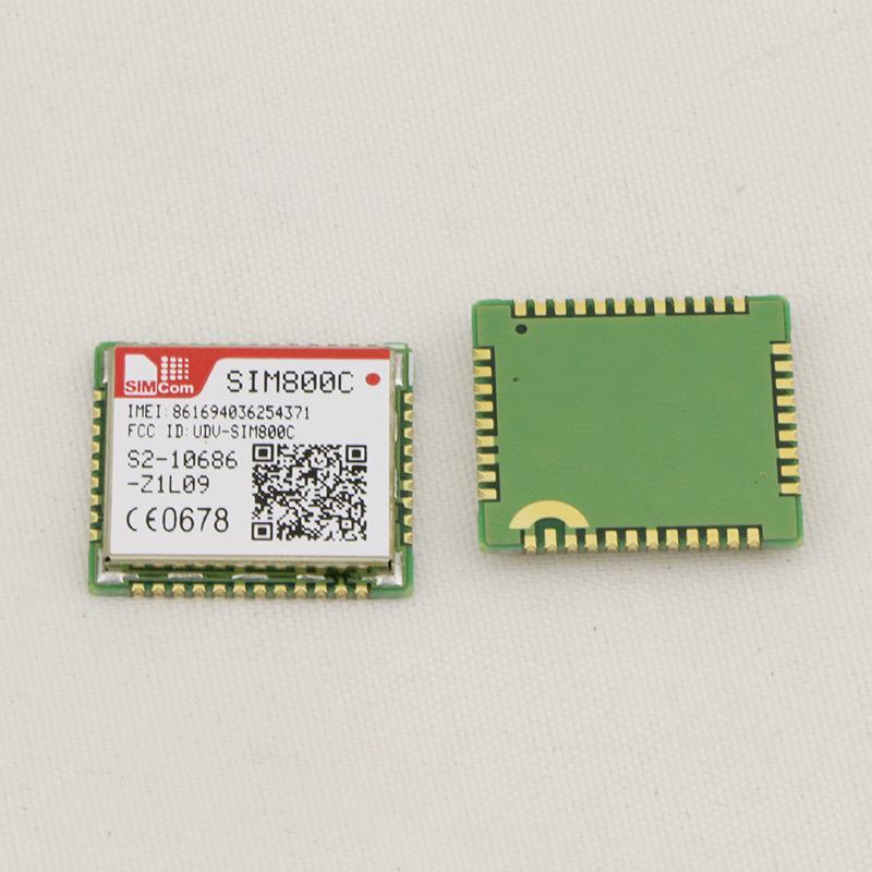 全新原装 SIMCOM SIM800C GSM GPRS 模块 SIM800C, 2G 通讯模块LCC封装 5