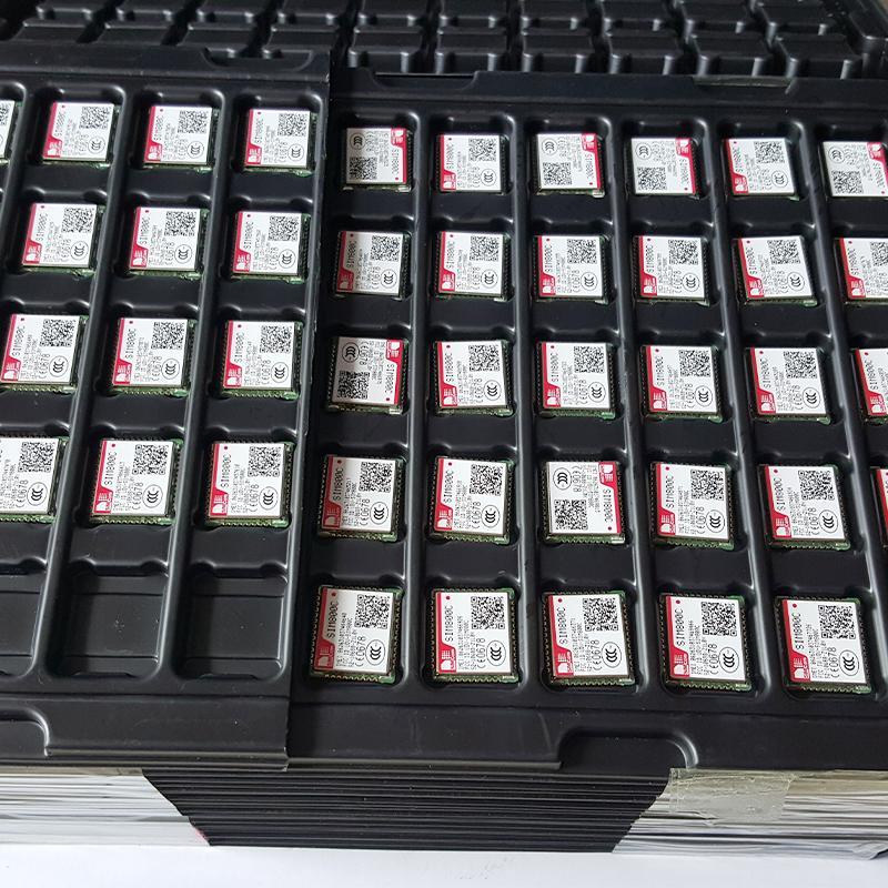 全新原裝 SIMCOM SIM800C GSM GPRS 模塊 SIM800C, 2G 通訊模塊LCC封裝 6