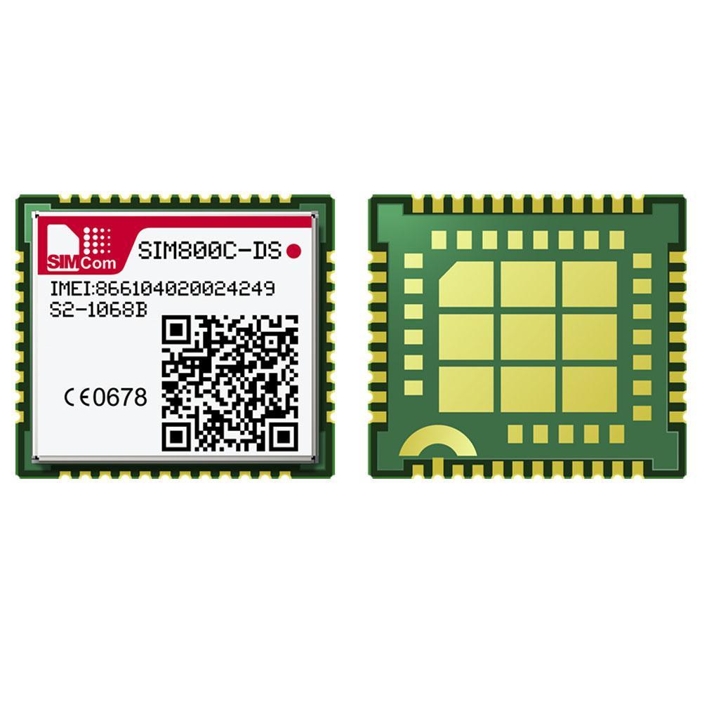 SIMCOM SIM800C-DS 2G GSM GPRS 模塊, LCC+LGA封裝  1