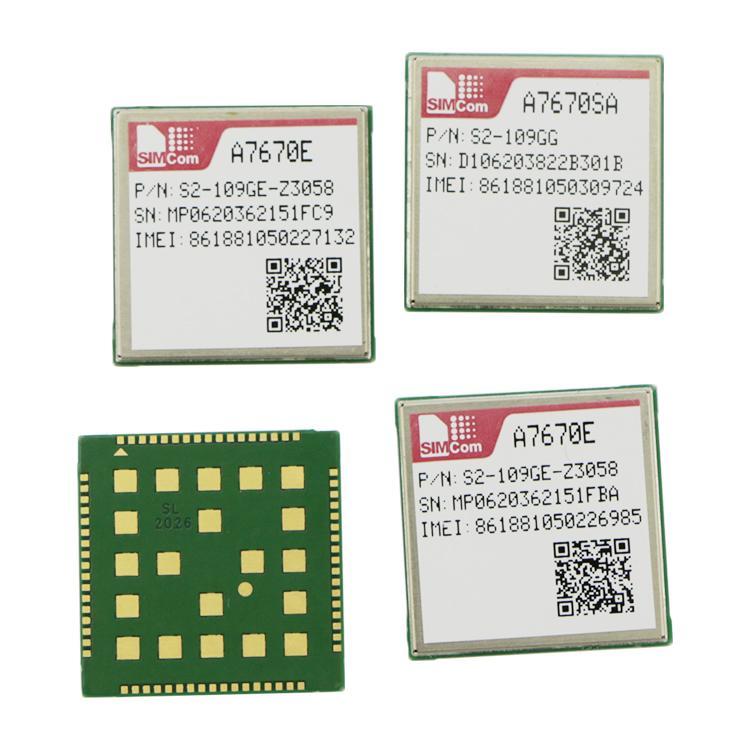 A7670SA A7670E A7670C SIMCOM 4G LTE模塊 1