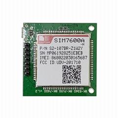 SIMCOM SIM7600A-H LTE 4G 模块 LTE Cat.4 带PCB板和SIM卡座