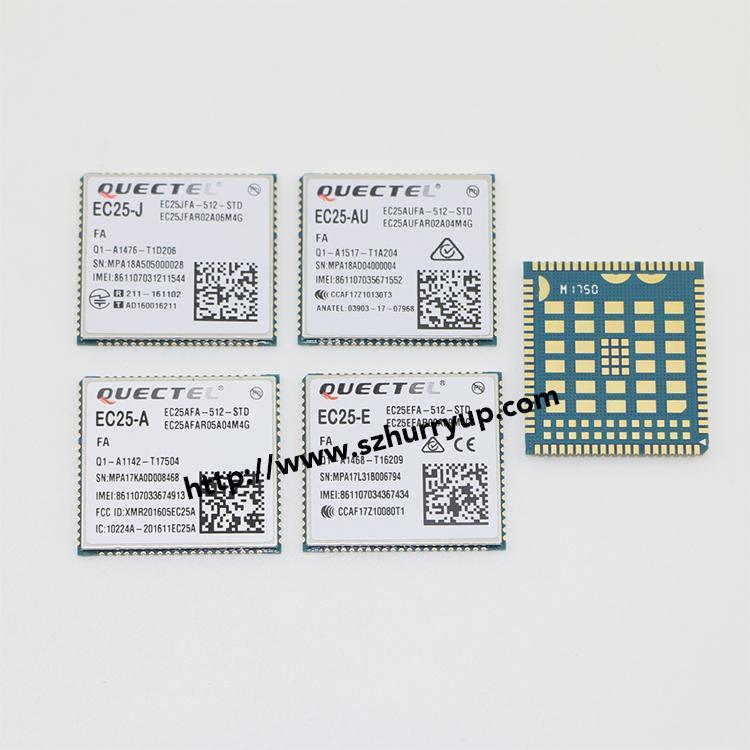 Quectel移远EC25-A EC25AFA-512-STD LTE 4G模块,LCC+LGA封装 6