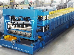 China Glazed Tile Forming Machine Manufacturer
