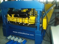 Ibr Profile Roll Forming Machine