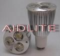 GU10 Type Three-piece 1W High-power LED