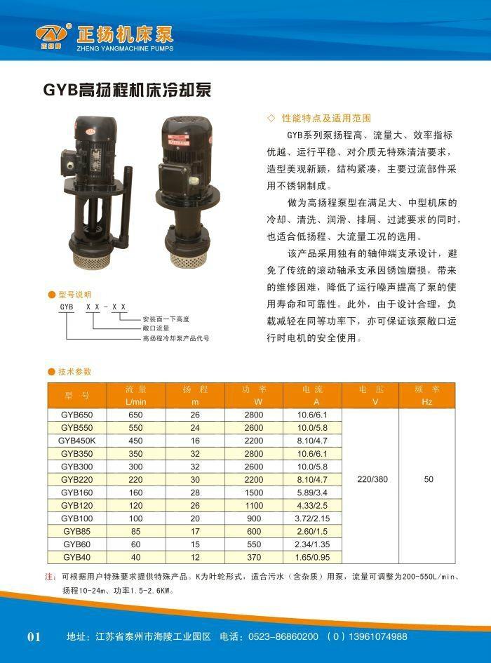 玻璃磨边机冷却泵 5