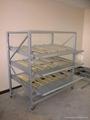 流利架-C型加侧梁及拣货斜板