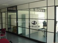 重庆中空百叶玻璃隔断