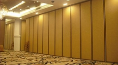 Aluminum movable partition wall