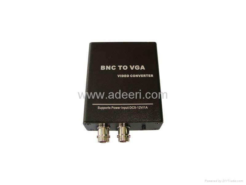 BNC转VGA监控转换器 1