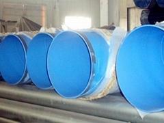 大口徑內外塗塑鋼管