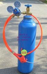 實驗電子10升氦氣鋼瓶