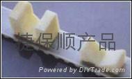特殊加挡块同步带 进口皮带 聚氨酯PU同步带