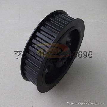 深圳各種同步帶輪 鋁合金同步輪 鋁質軸承 5